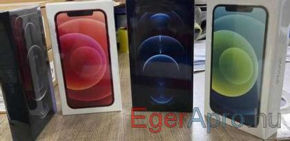 iPhone 12 Pro 530eur,iPhone 12 430eur és mások